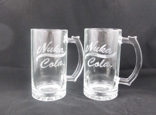 Engraving Glass Beer Stein, 16oz Beer Glass Mug