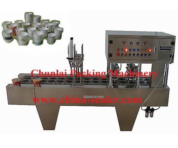 Automatic Instant Noodle Bowl Sealing Machine