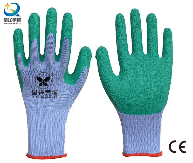 21 Gauge Yarn Latex Palm Coated Safety Glove