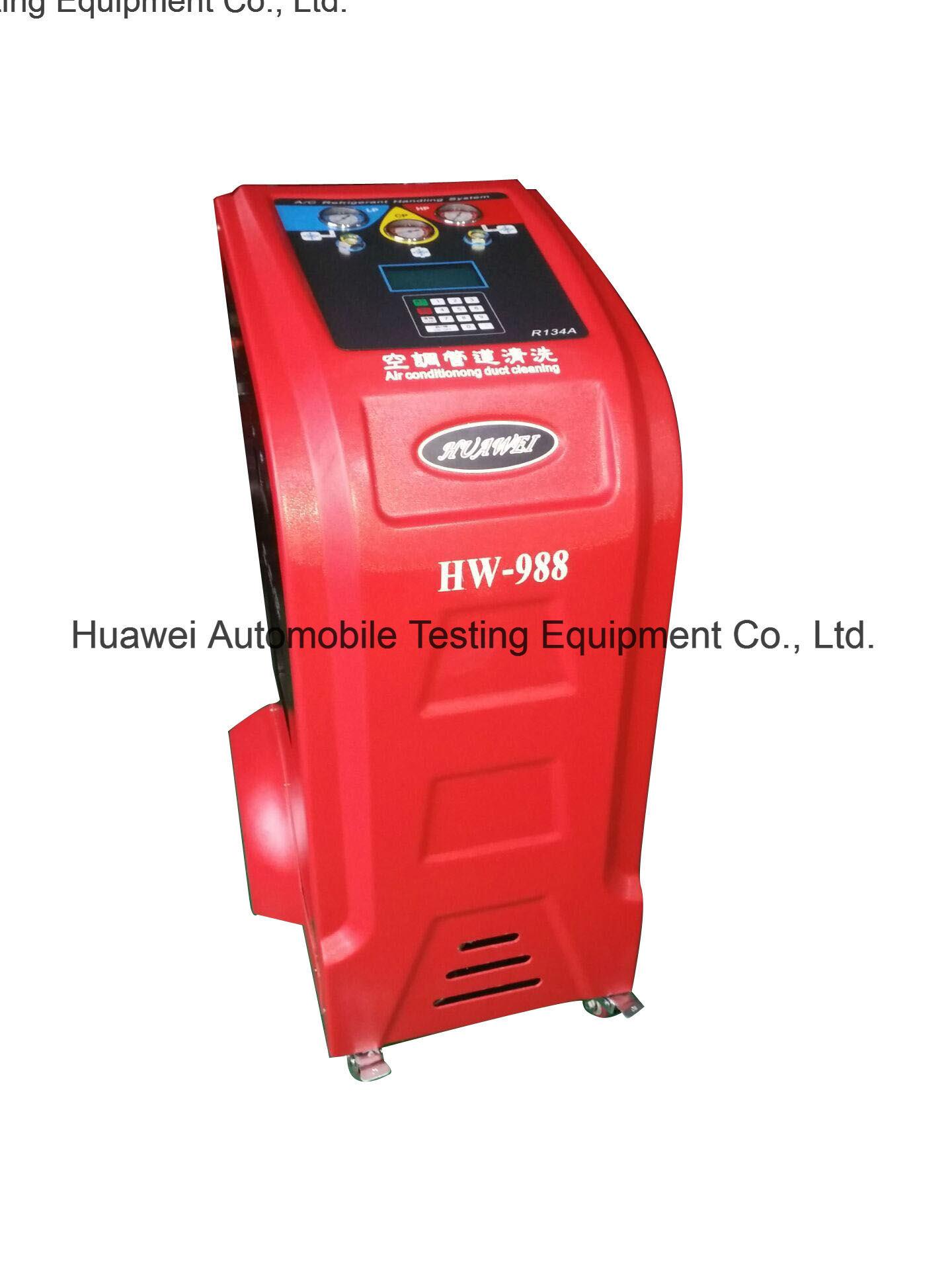 Hw-988 Car AC Refrigerant Recovery Machine Refrigerant Reocvery