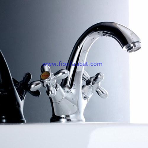 Double Handle Basin Mixer