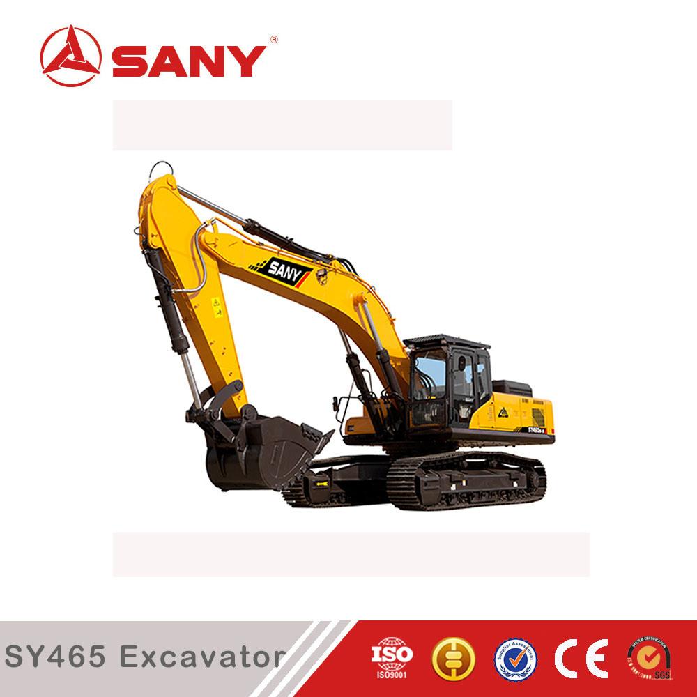 Sany Sy465 46.5 Ton Mining Construction Large Crawler Hydraulic Excavator
