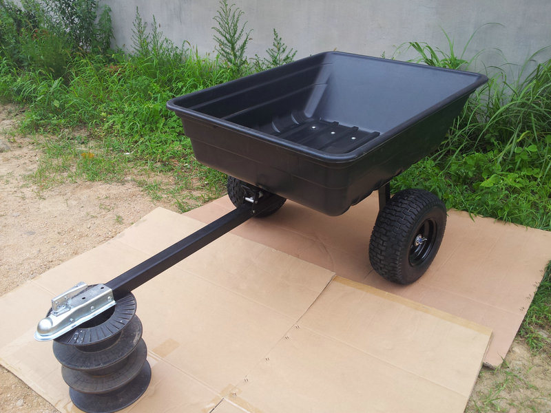 16b3e0a1cdfdc0a524e9cda8ed74ecba in addition Equipment Trailers further Jeep Body For Lawn Mower additionally Rear Mounting Cargo Box Ezgo Rxv Golf Cart also Rock City Trailer. on golf cart dump trailers
