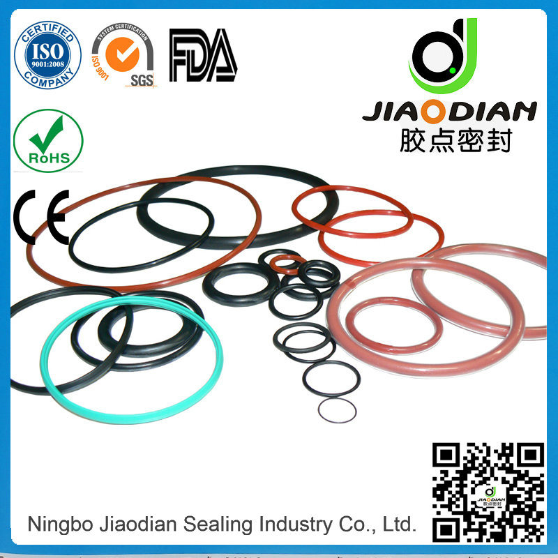 EPDM O Rings Shaft Seals with SGS RoHS FDA Certificates As568 (O-RINGS-0061)