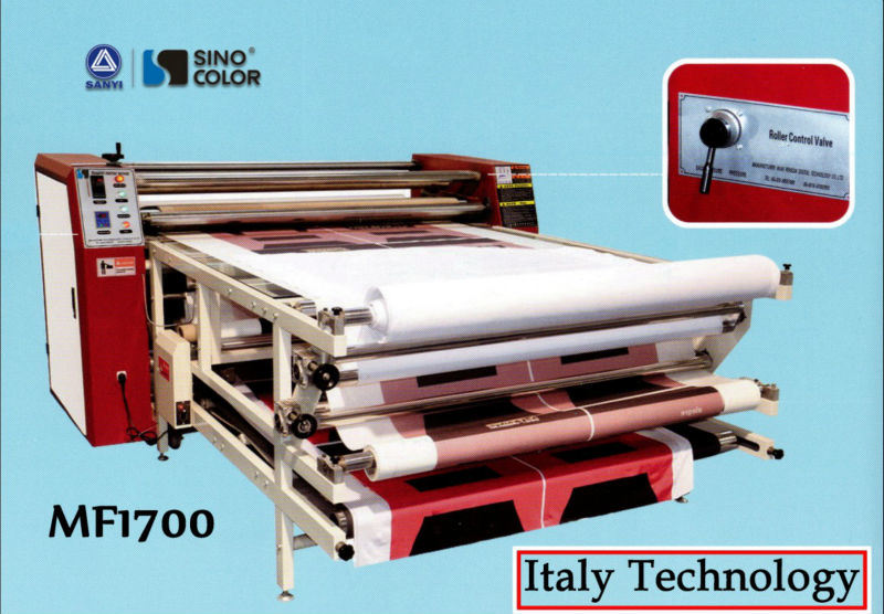 Mf-1700 Roll to Roll Heat Transfer Machine