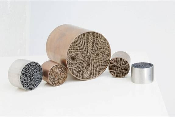 Special Size Metal Honeycomb Substrate (Euro V emission standards)