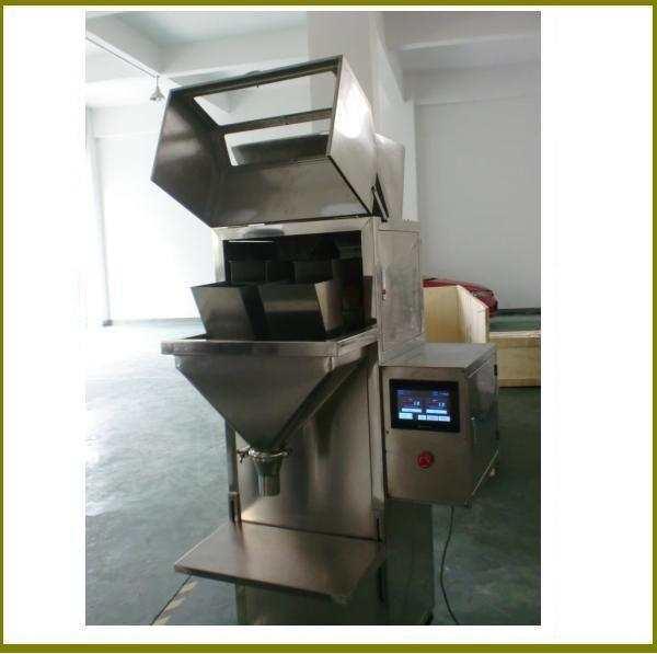 Semi Automatic Nuts Beans Granule Weighing Filling Machine Granule Weigher