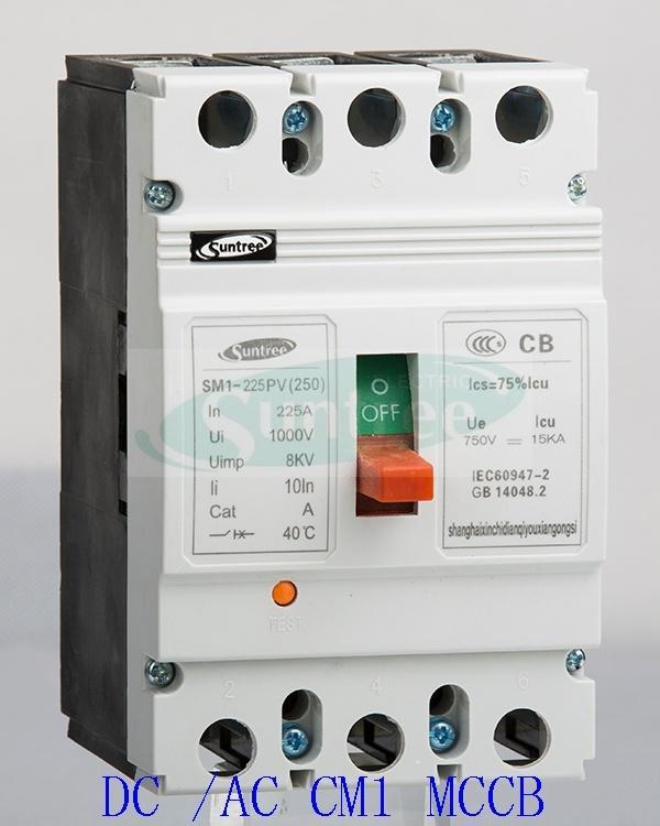 DC/AC 80A-1600A 3 Pole 4 Pole Moulded Case Circuit Breaker Ns Nsx MCCB