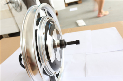 2kw Brushless DC Motor, Rear Wheel Hub Motor