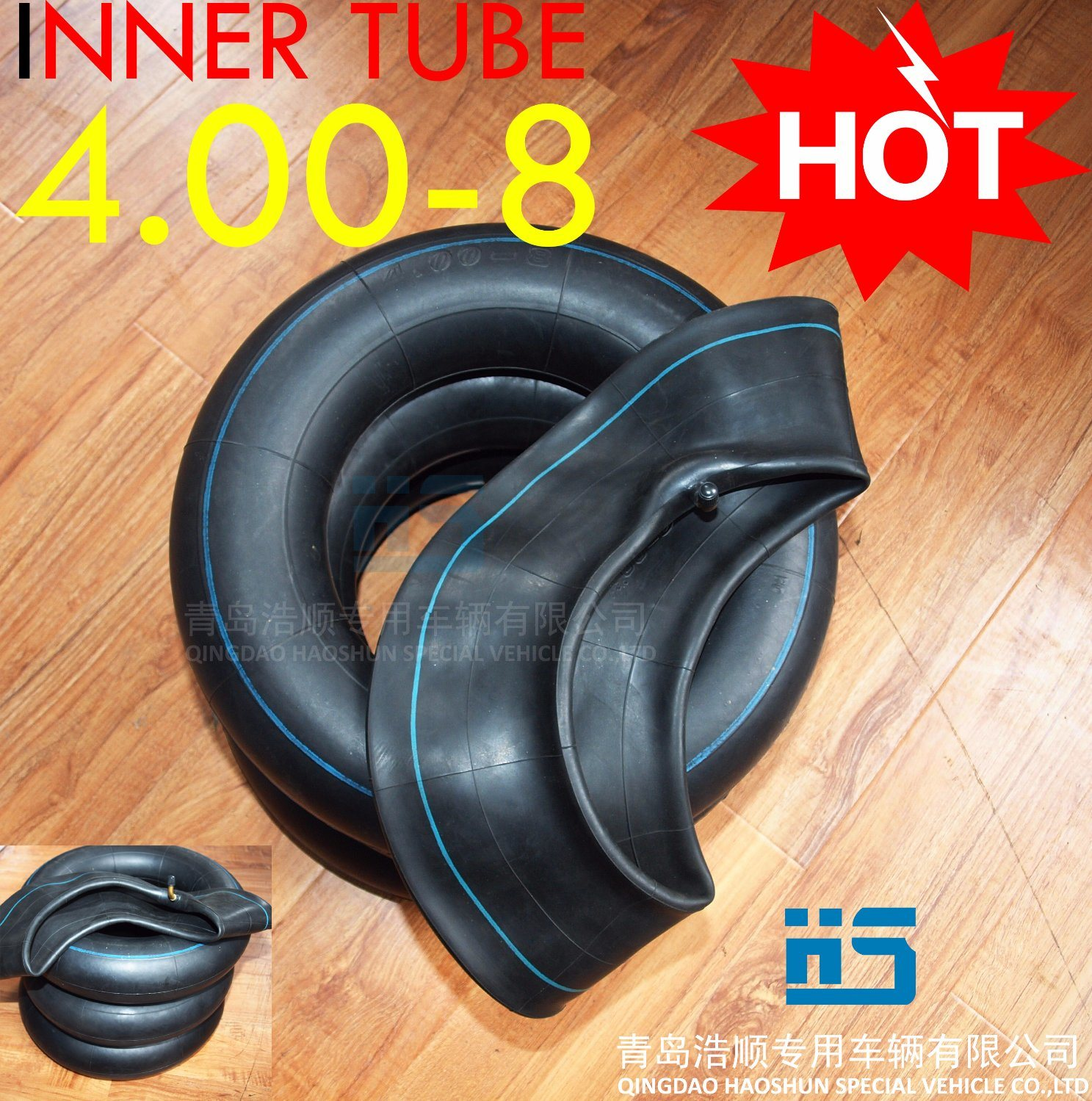 Tricycle Inner Tube 4.00-8 Tire and Keke Tube