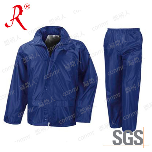 Casual Nylon Rain Suit, Rain Coat (QF-761)