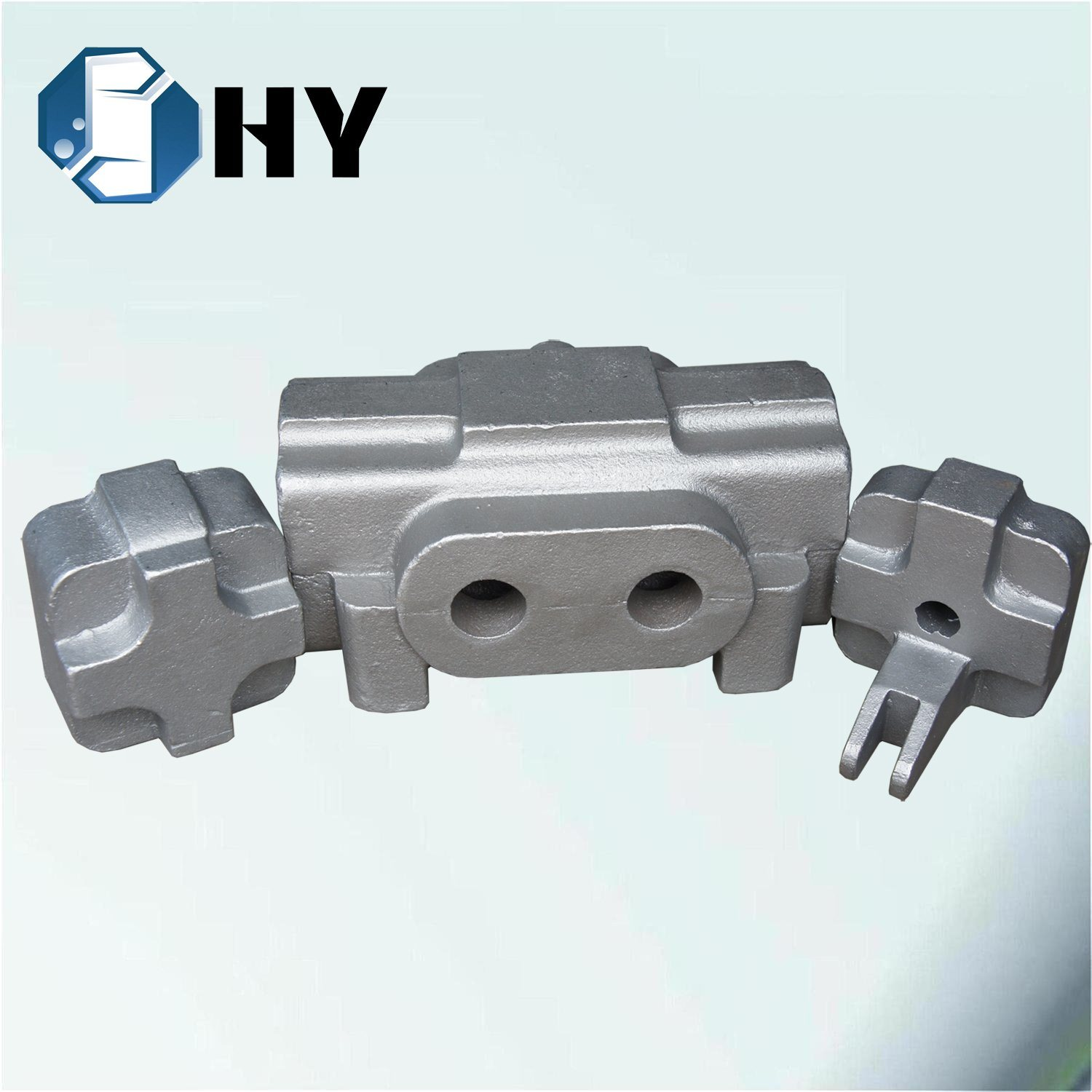 Wrought Iron Car Parts Flywheel Control Valve Body Sand Casting