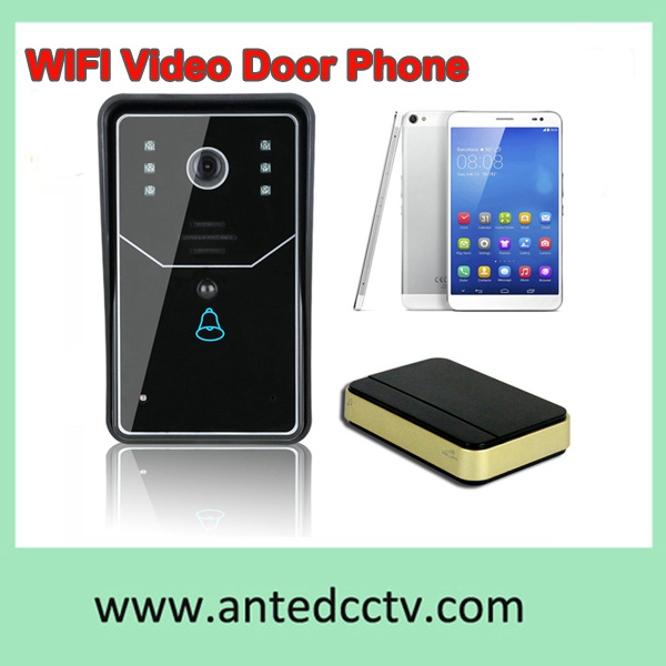 2.4G Wireless WiFi Home Security Video Door Intercom Systems Support Mobile Phone