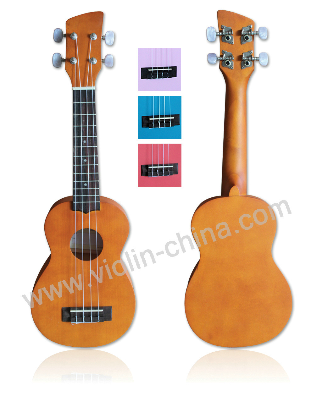 Hawaii Ukulele, Four Strings Guitar (UKE01)