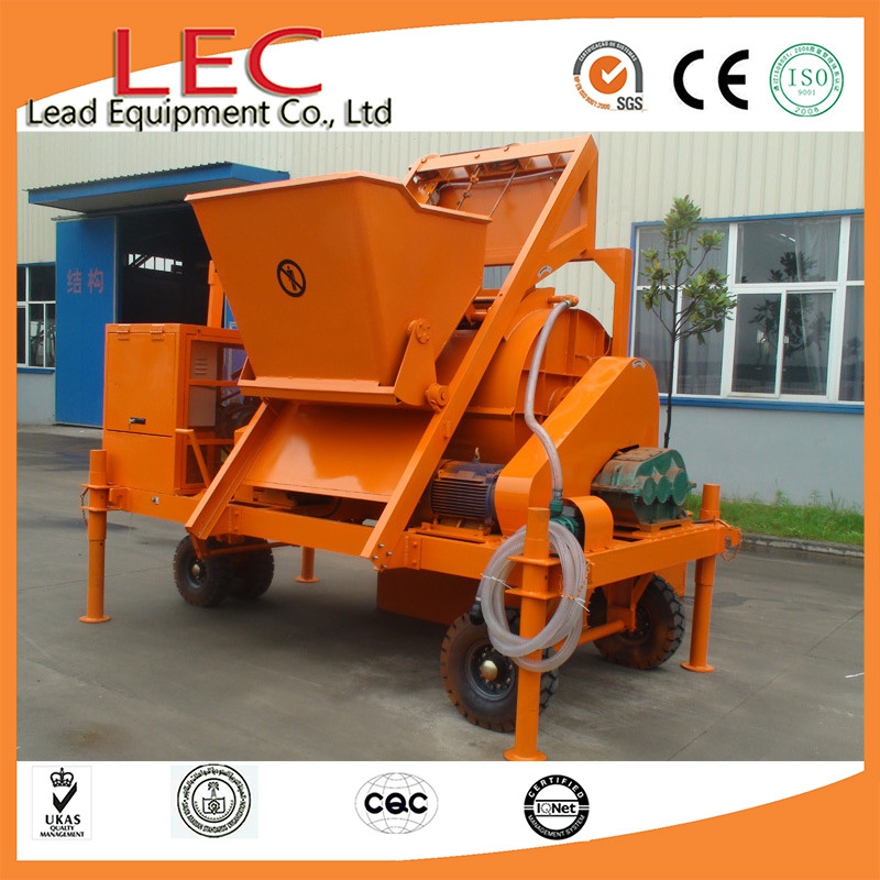 Thermal Insulation Layer of Floor Heating Engineering Use Cement Foaming Machine