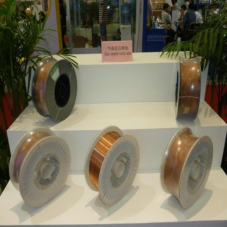 Welding Consumables 1.2mm 15kg/ Spool Er70s-6 Sg2 Copper Solid Solder Welding Wire From Golden Bridge OEM Supplier