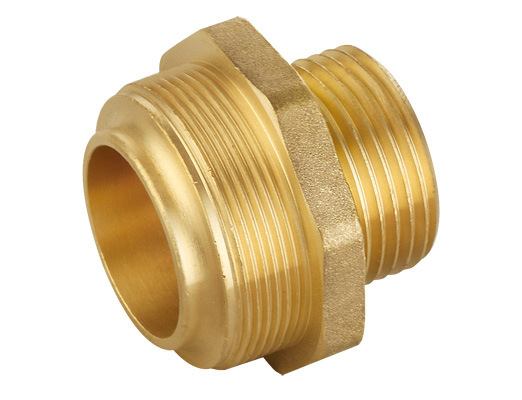 China pipe fitting brass compression fittings for pe