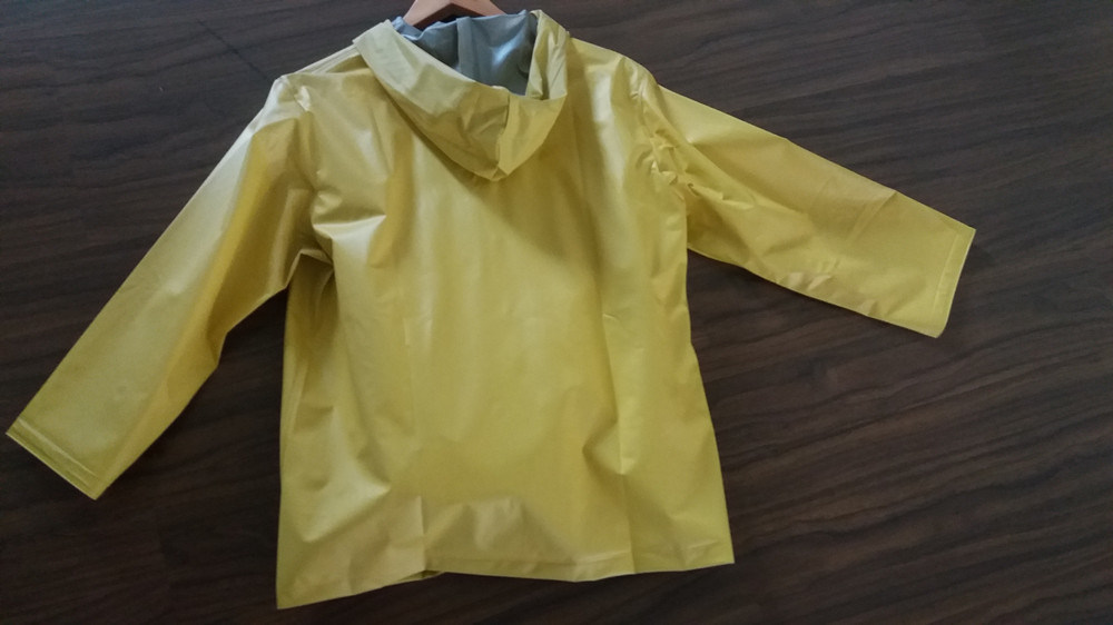 PVC/Polyester Workwear Rain Coat