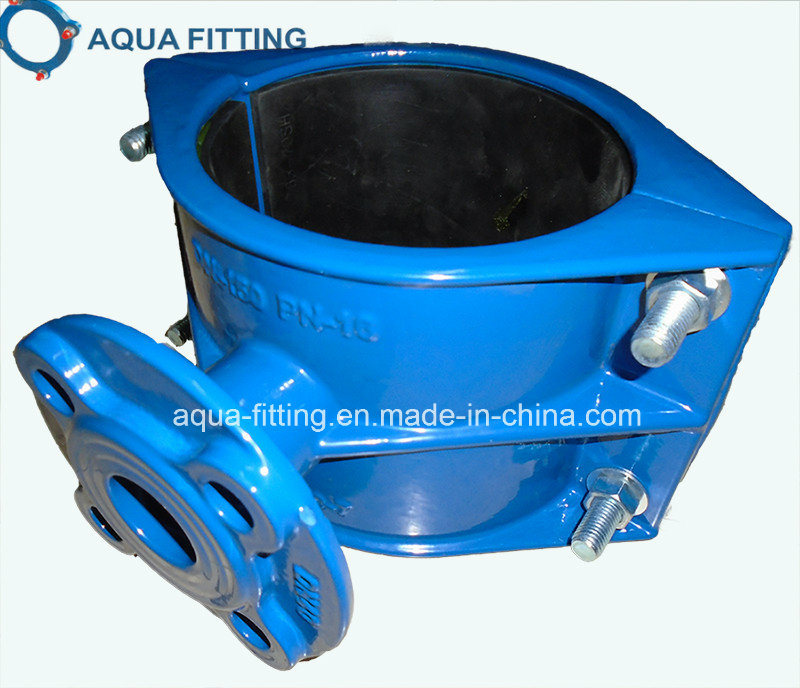 Tapping Saddle with Flange Outlet for Di Pipe