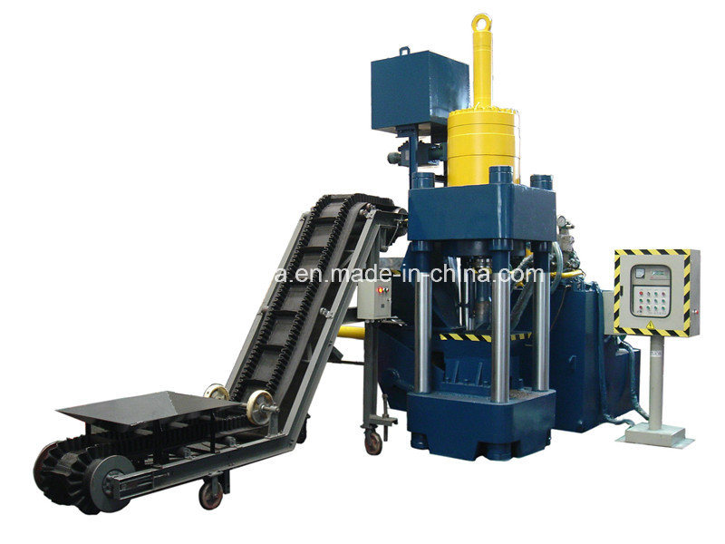 Hydraulic Briquetting Press Machine for Metal Chips (SBJ-500)