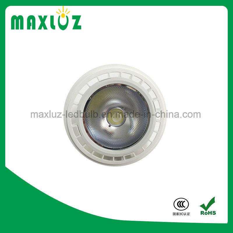 12W New AR111 LED Spotlight with GU10 and G53 Base