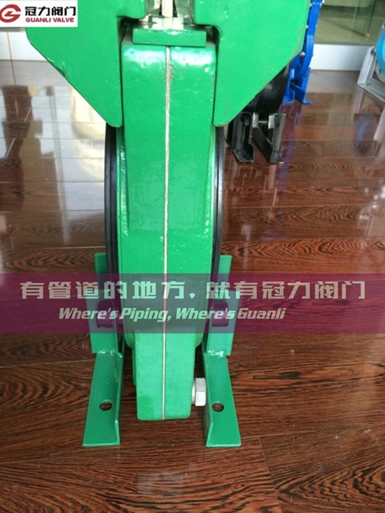 Ductile Iron Heavy Duty Kgd Slurry Knife Gate Valve