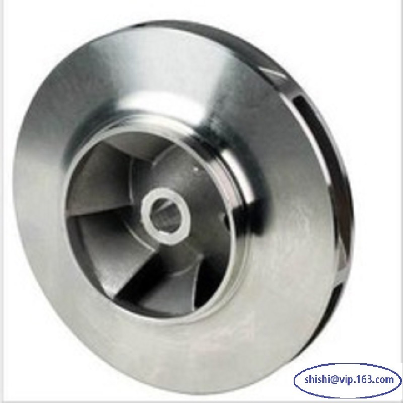 Stainless Steel Investment Casting Pump Impeller (machining part)