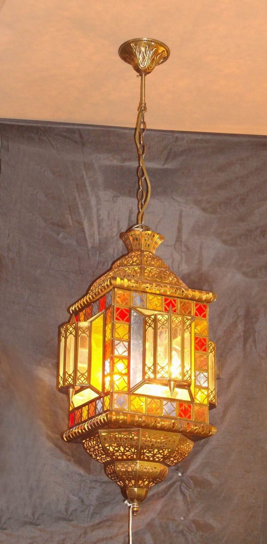 Brass Pendant Lamp with Glass Decorative 18958 Pendant Lighting