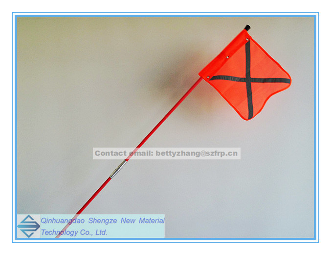 FRP Flagpole, Fiberglass Pultrusion Tube and Rod, Fiberglass Folding Flagpole