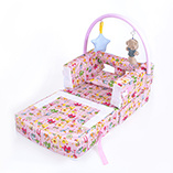 2 In1 Baby Crib Sofa Folding Folding Stool Protection Bar