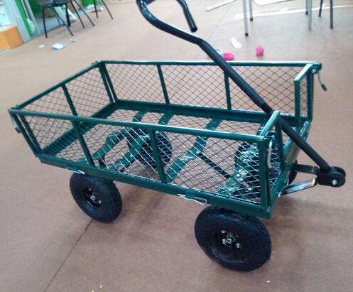 Factory Outlets Center Beach Cart Steel Mesh Garden Cart