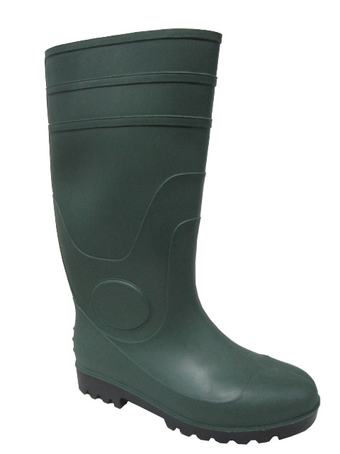 CE Certified PVC Safety Rain Boots (GSI-257)