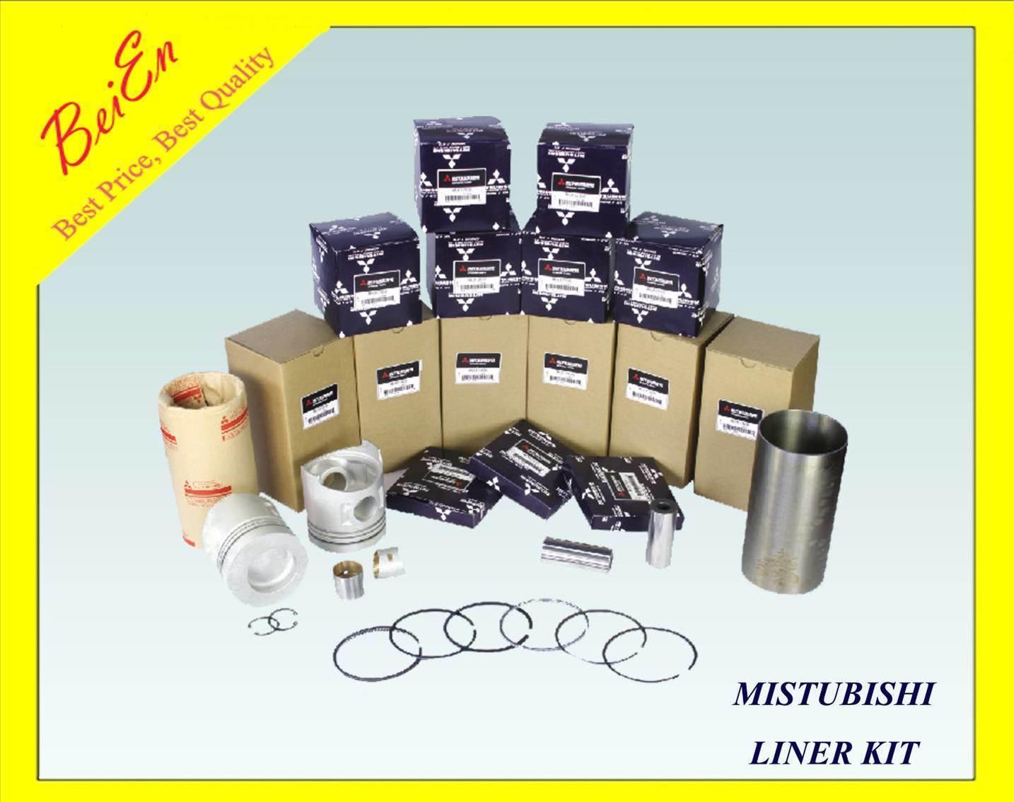 Liner Kit for Mitsubishi Excavator Engine Model