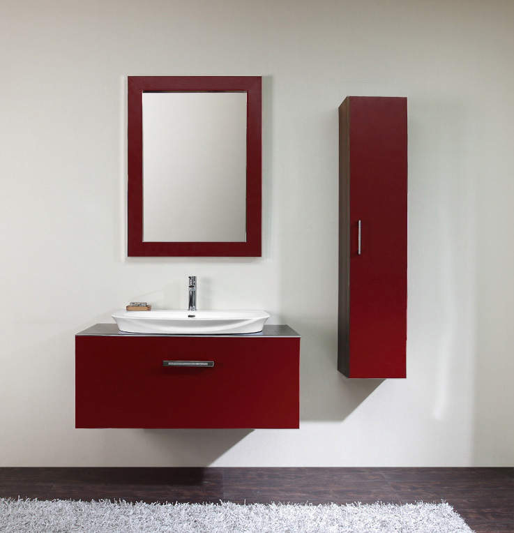 Perfect Red Is Very Exotic Color When It Comes To Interior Designing Design With Red, Appeals To Everyone Irrespective Of Their Taste And Favorite Color However Red Is Rarely Used In Bathroom Design Along With Other Vibrant Color As It Makes Small