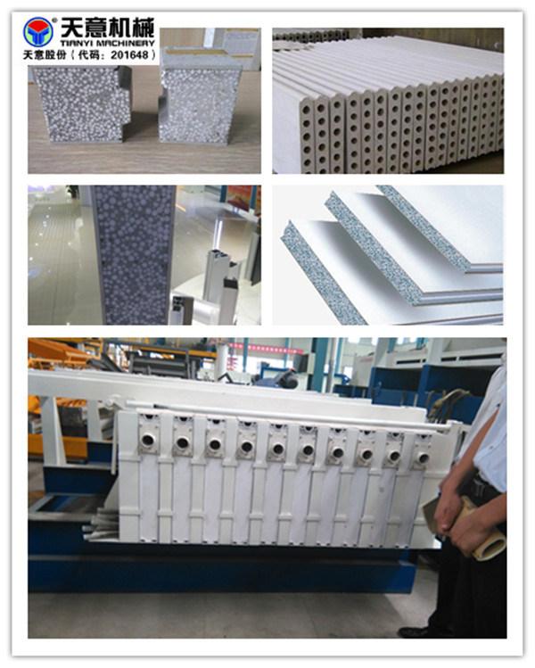Automatic Sandwich Wall Panel Making Machine