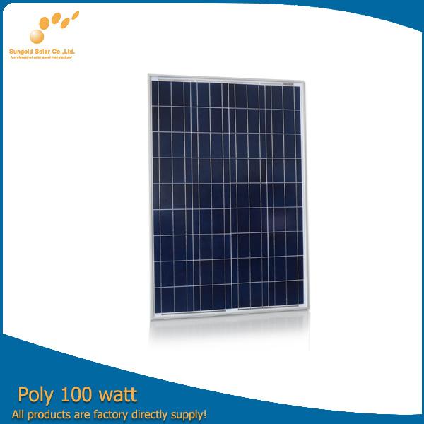 High Efficiency Poly Solar Module (SGP-100W)