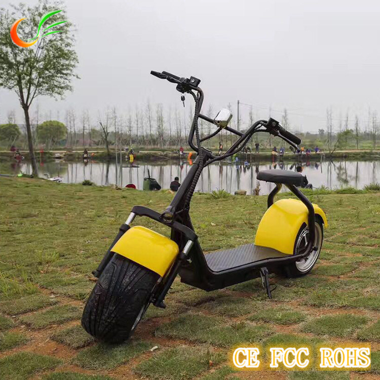Green Travelling Harley Mini Motorcycle Citycoco Electric Motorcycle