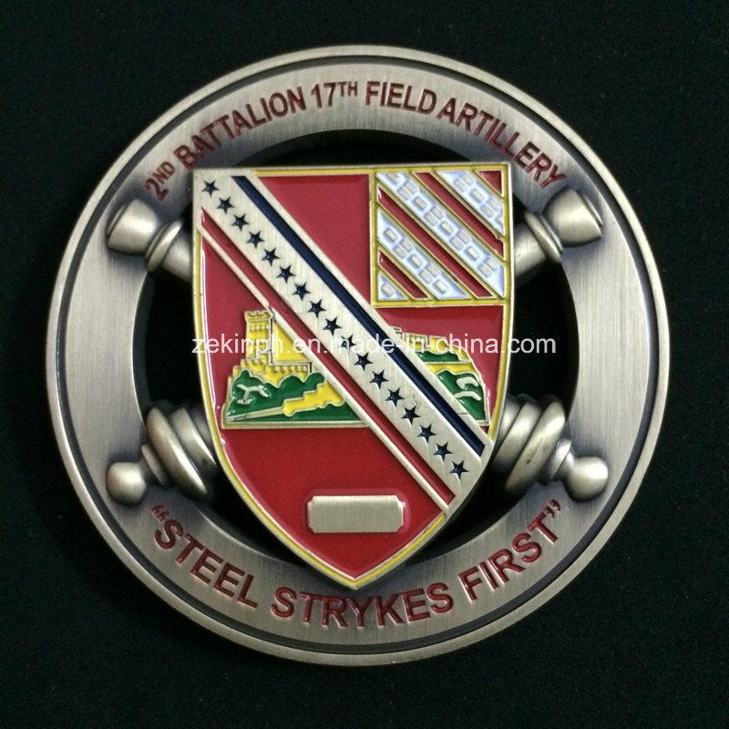 Custom Double Sides 3D Military Coins for Souvenir