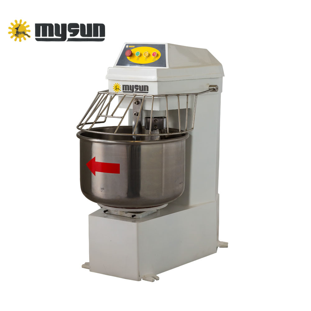 Commercial Stainless Steel Double Speed Spiral Dough Mixer with Timer