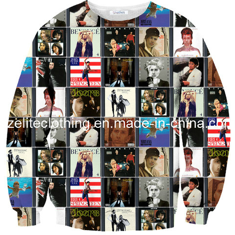 Funny Design High Quality Digital Printed Sweaters (ELTSTJ-7)