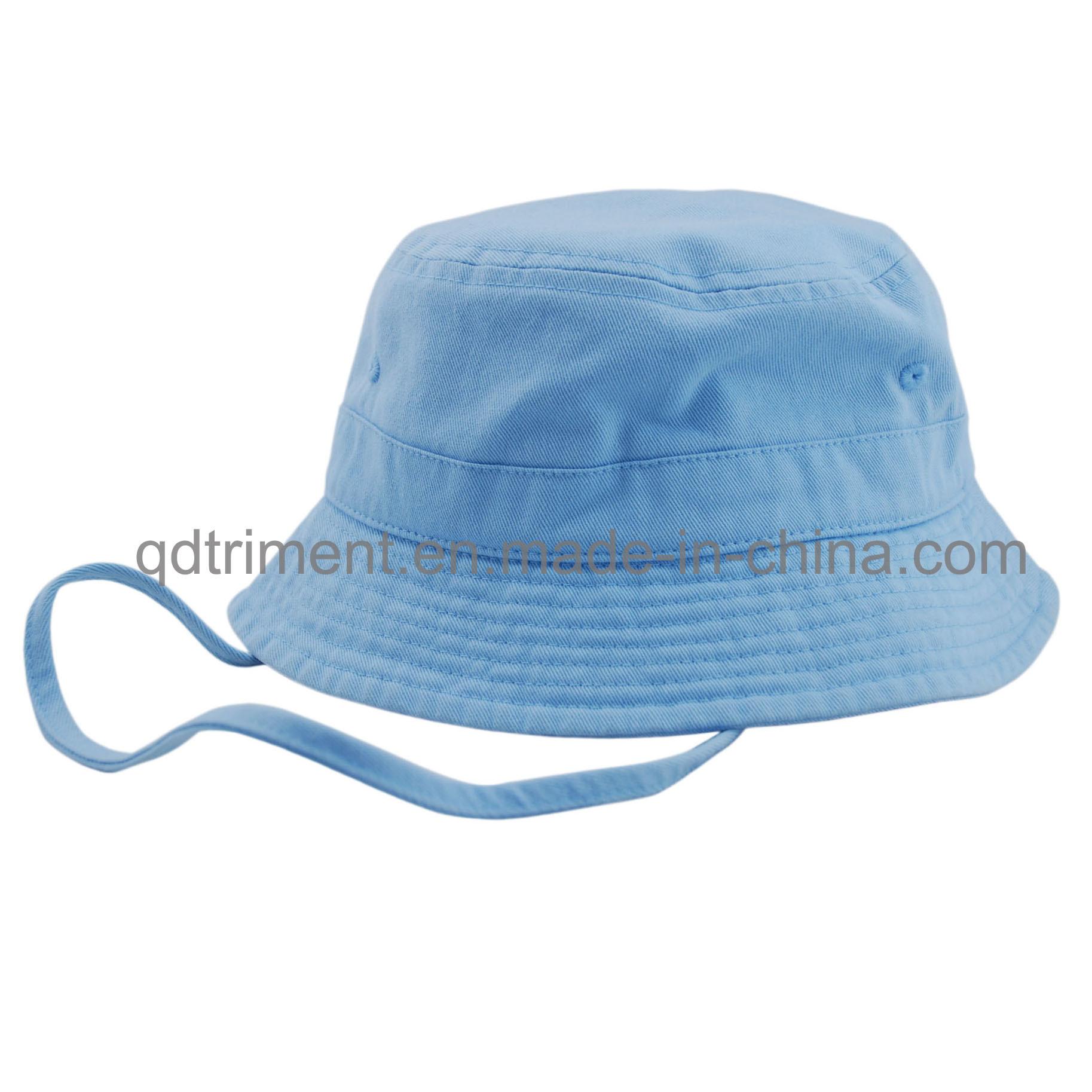 Washed Cotton Canvas Leisure Fisherman Bucket Hat (TMBH2021)