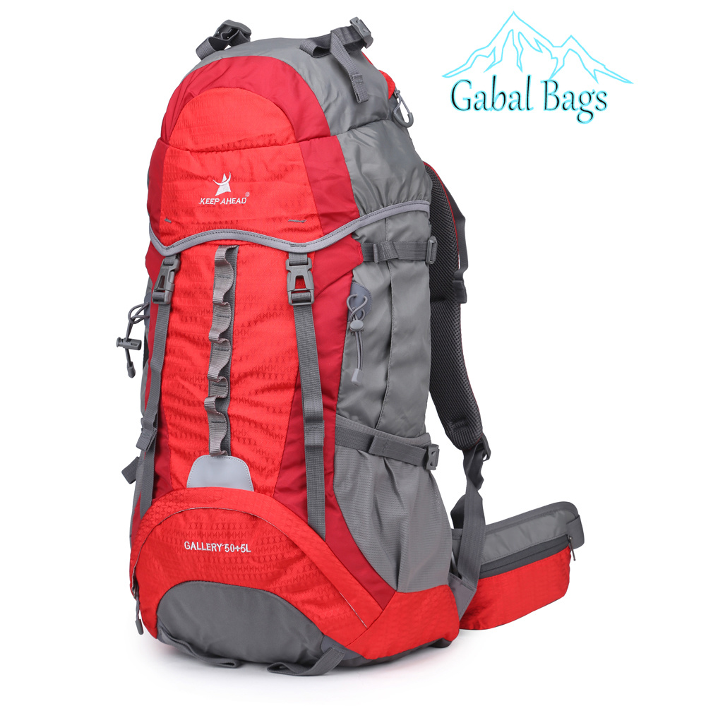 Waterproof Nylon Outdoor Mountain Gear Travel Sports Hiking Bag Backpacks