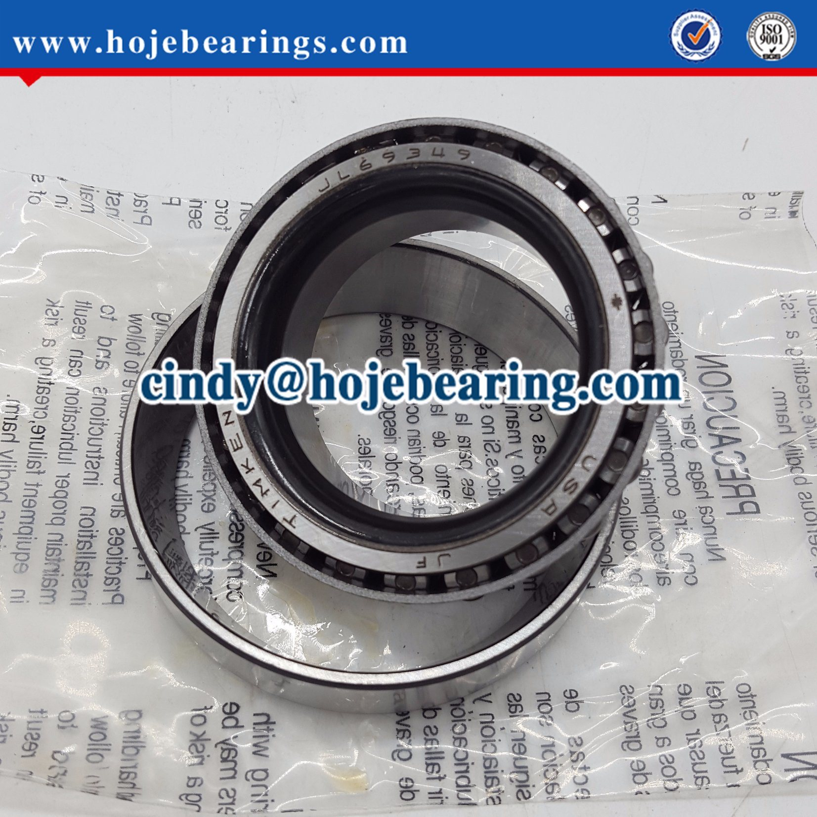 Jl69349/Jl69310 Taper Roller Bearing Set Taper Wheel Bearing