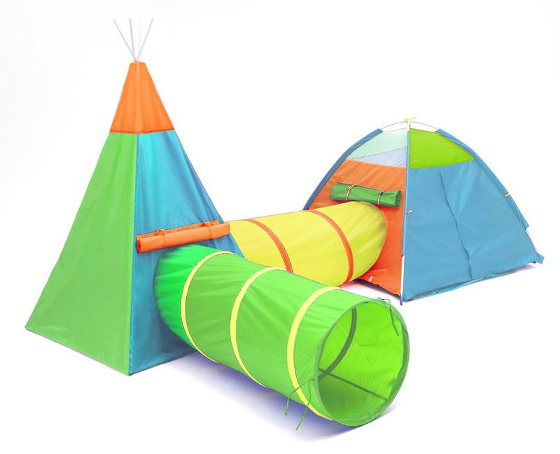 4-Piece-Suit Play Tent for Kids