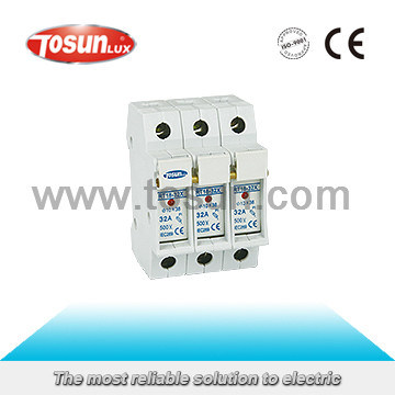 DIN Rail Mountable CE Certified Fuse Holder
