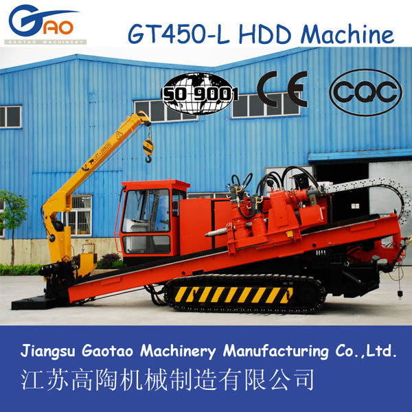 CE Certified Gt450-L Horizling (HDD) Drilling Rig Machine
