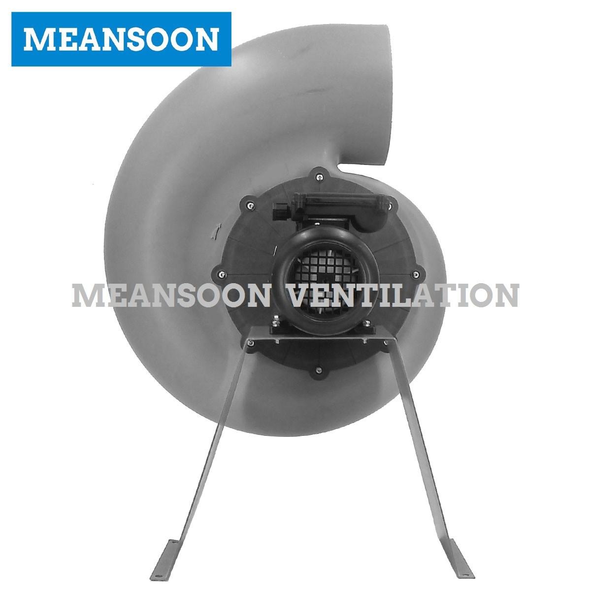 Plastic Corrosion Proof Radial Fan for Laboratory Ventilation