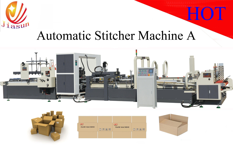 Automatic-Stitcher-and-Folder-Gluer From China