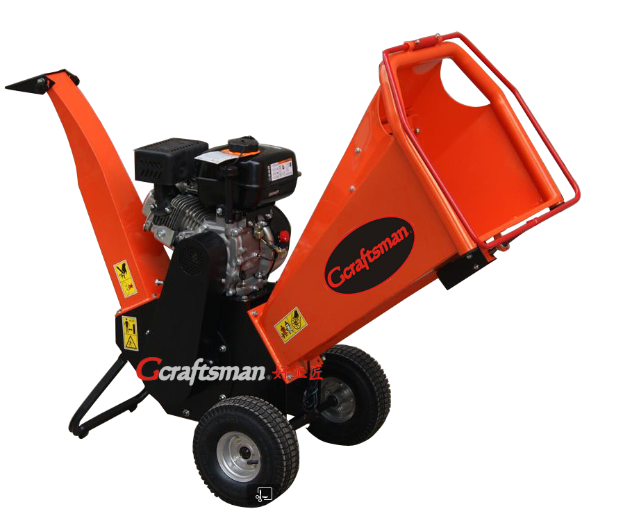 196cc Economic Gas Power Chipper Shredder, Wood Chipper, Wood Shredder