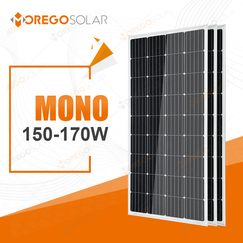 Morego PV Solar Product / Panel 150W-170W for Roof Use